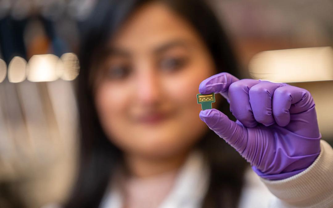 A UT Dallas Graduate Student Creates First Rapid-Testing Sepsis Sensor